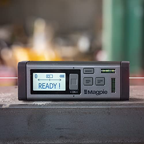 The World's First Bilateral Laser Measurer By Magpie Tech:80m/262ft. VH-80 Laser Distance Meter With Multiple Measurement Units – Multifunctional Device For Fast, Precise & Professional Results
