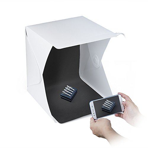 ZWOOS Caja de Fotografía con LED de Luz Fotográfico Tienda