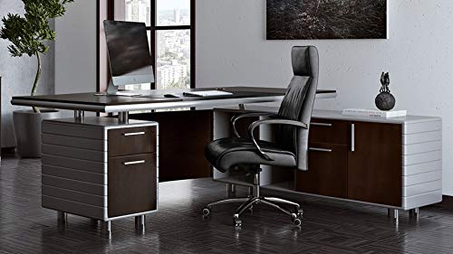 Zuri Furniture Kennedy Corner Executive Desk