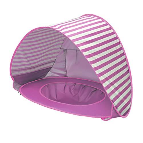 Rehomy Mini Tenda da Acqua Pieghevole per Bambini Resistente Ai Raggi UV Tenda da Spiaggia Facile da Installare per Bambini Piccoli