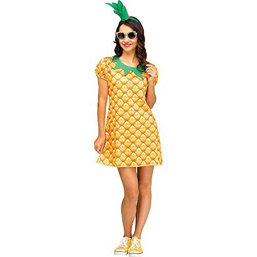 Fun World Fantasia feminina de abacaxi fofa