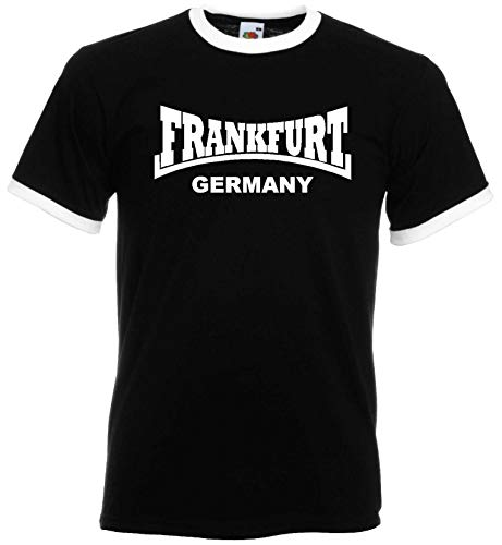 Frankfurt Germany Retro Shirt Herren Ultras