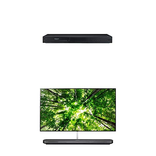 Lowest Price! LG UBK90 4K Ultra-HD Blu-ray Player with Dolby Vision (2018) and 65-Inch 4K Ultra HD S...