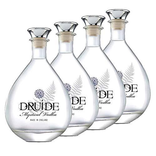 Vodka Druide de 70 cl - Inglaterra - Bodegas de Gonzalez Byass (Pack de 4 botellas)