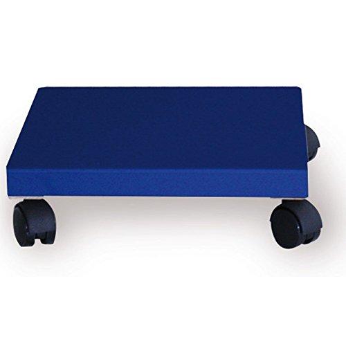 STABILER BLUMENROLLER PFLANZENROLLER Blau