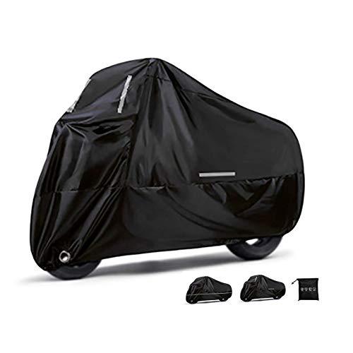 HOTLIGHT Fundas para Motos Cubierta Completa de la Motocicleta Compatible con la Cubierta de la Moto BMW K 1600 B, Capucha de Motocicleta Duradera Impermeable a Prueba de Agua con Tira Reflectante