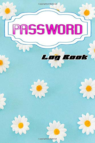 Password Logbook: Password Logbook With Tabs Glossy Cover Design White Paper Sheet Size 6 X 9 INCHES ~ Organizer - Remember # Tabs 104 Page Very Fast Print.