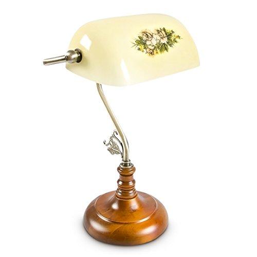 Preisvergleich Produktbild Relaxdays Bankerlampe,  E27