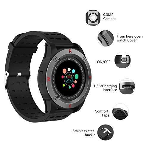 Reloj Inteligente Mujer Hombre, AIVEILE Smartwatch Bluetooth con ...