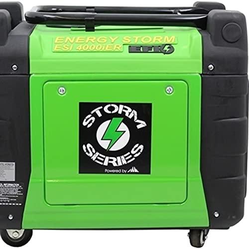 Lifan ESI 4000iER-Efi-CA Energy Storm Digital Inverter Generator, Green -  ESI4000iER-EFI
