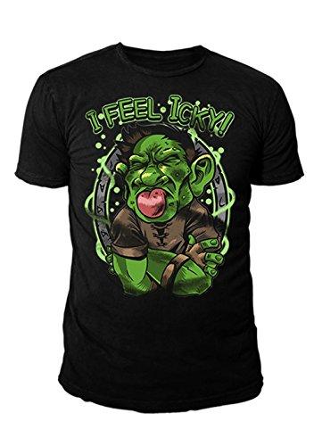 Hearthstone - Premium Herren T-Shirt - Icky (Schwarz) (S-XL) (M)