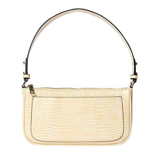 Becksöndergaard Handtasche Damen Brighty Monica Bag Beige (Chardonnay) - Umhängetasche mit Kroko-Optik im 90er Stil - 2004412022-661