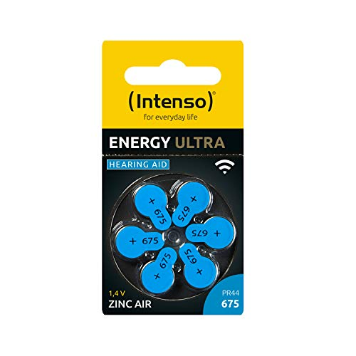 Intenso Energy Ultra Hörgeräte Batterie PR 44-675 6er Blister