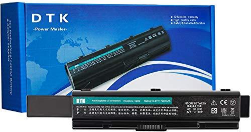DTK PA3534U-1BRS PA3533U-1BRS PA3535-1BAS Batería de Repuesto para Portátil for Toshiba EQUIUM Series Satellite A200 A300 A500 L200 L300 L500 [10.8V 6600MAH 9CELLS]