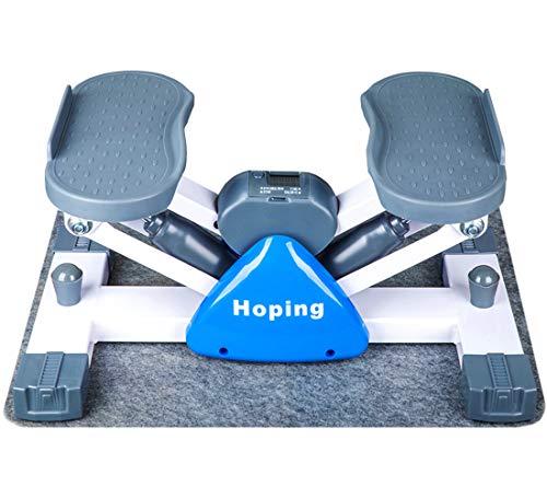 【2020最新版 強化型】健康ステッパー 室内運動器具 すてっぱー ステップ器具 ウォーキングマシン 健康器具 歩行運動 有酸素運動 踏み台昇降 ステップ台 山登り感覚 脂肪燃焼 mini 3d マットは無料にて提供させていただきます