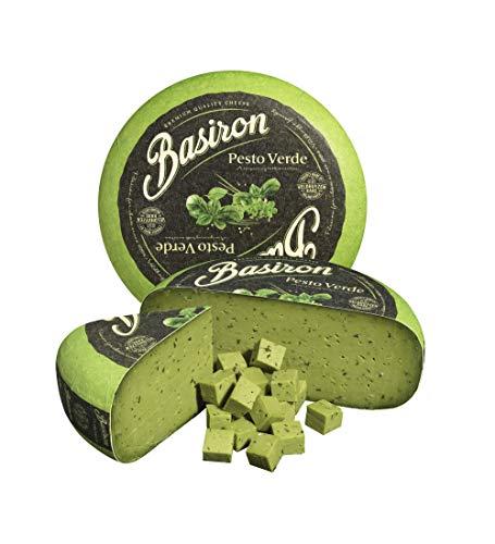 Queso Gouda Pesto Verde Basiron Cheese 4,5 Kg