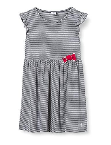 Petit Bateau Jungen A00ZK01 Kleid, Smoking/Marshmallow, 6 Jahre