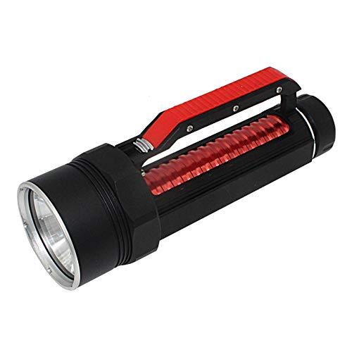 LED-Taschenlampe, XHP70.2 Tauchen Taschenlampe 26650 XHP70 Gelb/Weiß Light Spear Führte Tauchlampe