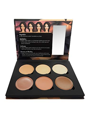 W7 | Contour Makeup Palette | Lift & Sculpt Cream Contour Kit | Highly Pigmented Matte Colors For Contouring And Highlighting