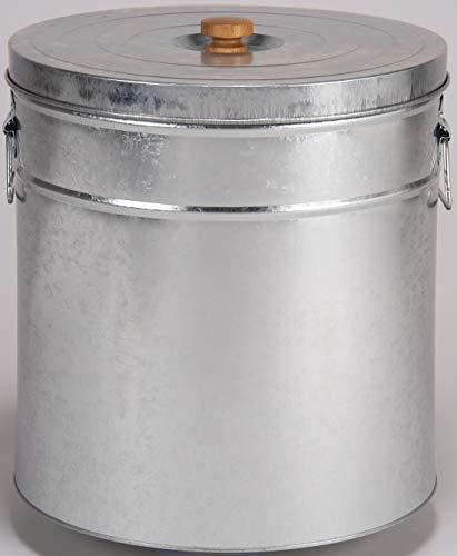 三和金属(Sanwakinzoku) 米びつ シルバー 本体満容量:約40L、お米収納容量:約30kg TMK-30