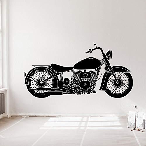 wZUN Calcomanía de Vinilo para Coche Vintage, Pegatina para Motocicleta, decoración para el hogar y el Garaje, extraíble 85X43cm
