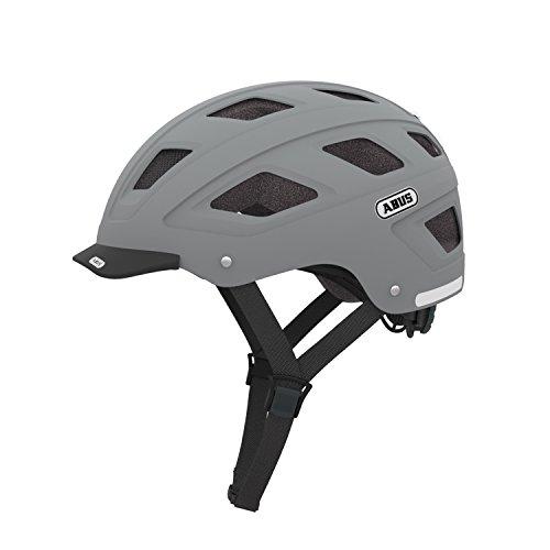 ABUS Unisex Adult's Hybad with LED Helmet