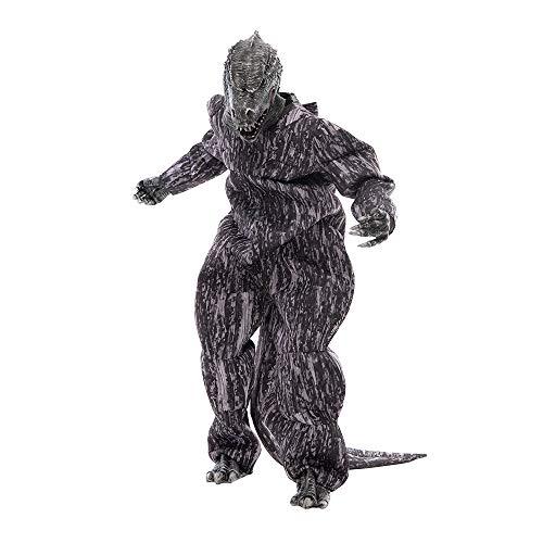 EraSpooky Adulto Godzilla Disfraz Juguetes Rey de los Monstruos Gran Disfraz de Halloween Animal Party Outfit