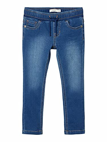 NAME IT Boy Jeans Powerstretch Sweatdenim Regular Fit 104Medium Blue Denim