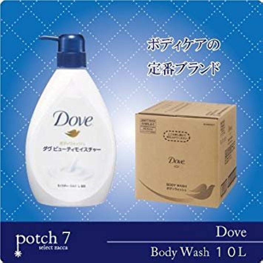 トリッキー再編成する名前Unilever ユニリーバ Dove ダヴ 10L ボディソープ 詰替え 空容器520g×1本付