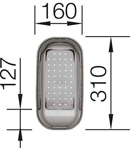 Blanco 214443 ZUBEHÖR Kunststoffschale in trans. grau