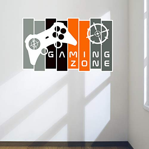 Design Divils Cooles Gamer-Wandtattoo, Aufkleber mit Controller
