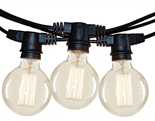 Cordoniera 5 Douille E27 6,5 M G95 LAMPS Incluses Outdoor Lamp String Lights