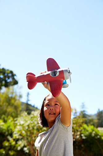 Green Toys Airplane - BPA Free, Phthalates Free, Red Aero Plane for Improving Aeronautical Knowledge of Children. Toys…