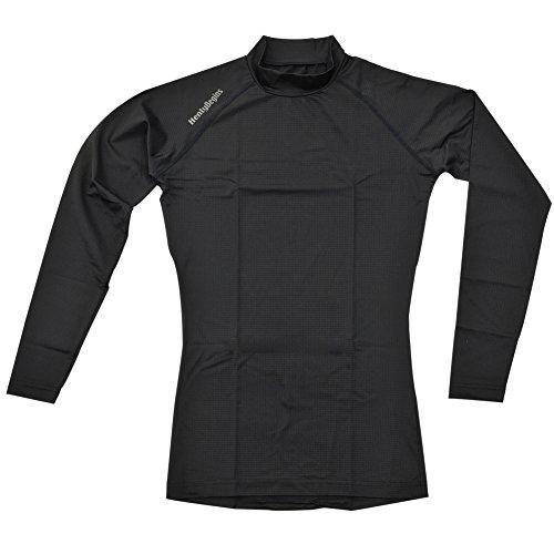 デイトナ ヘンリービギンズ HBV-017 放熱冷感インナー ハイネックシャツ ブラック Lサイズ 95706