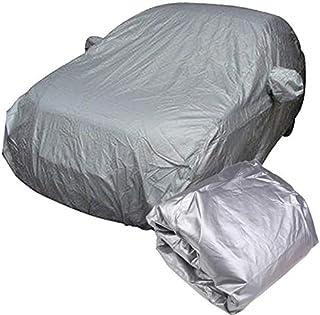 Full Car Cover Indoor Outdoor Sunscreen Heat Protection Dustproof Anti-UV Scratch-Resistant Sedan Universal Suit L