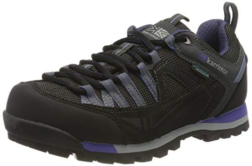 Karrimor Damen Spike Low 3 Ladies Weathertite Trekking-& Wanderhalbschuhe, Schwarz (Black/Purple Bkp), 38 EU