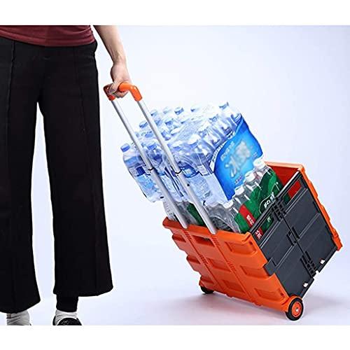 Conveniencia Carros de compras, Almacenamiento de cocina Utility-carts Carrito de la compra Carrito pequeño Carrito de la compra Carrito de compras Supermercado El plegado de supermercado puede sentar