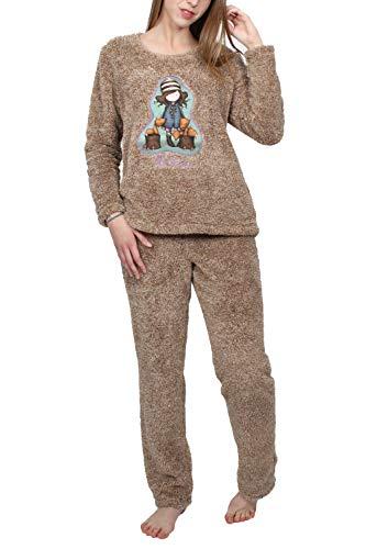 Santoro Pijama Manga Larga Calentito The Foxes para Mujer