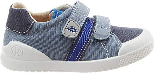 Biomecanics 202226, Zapatillas para Niños, Azul (Azul Marino Y Vaquero (Pique) Paprika), 26 EU