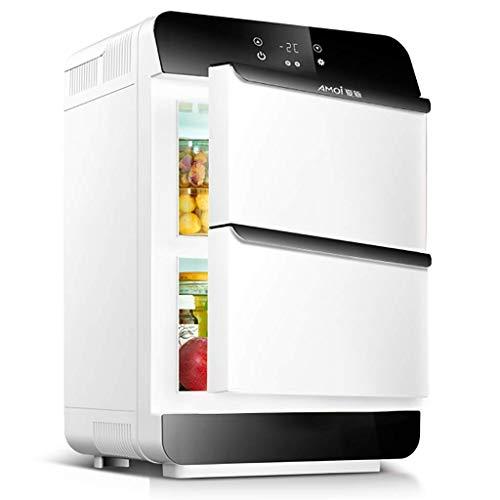 HRRF Mini refrigerador Retro - Mini Nevera, refrigerador de Bebidas, Capacidad de 25 litros, Temperatura de enfriamiento: 0-10 ° C,
