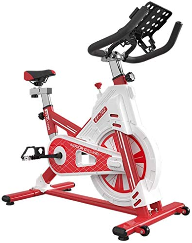 Upright Exercise Bikes Indoor Cycling Bike Spinning Bicycle Home Exercise Bike Indoor Sports Bike Fitness Equ Supplies Home m spin bikection Home spinning bikebic (Color : Red, Size : 105x59x106cm)