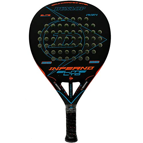 Dunlop Pala de pádel Inferno Elite LTD Orange - Blue