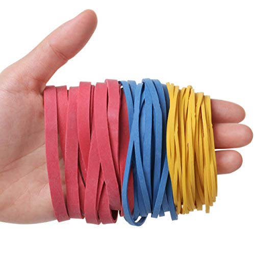 Mr. Pen- Colorful Rubber Bands, 300gr, Assorted Size, Rubber Bands, Rubber Bands Office Supplies, Rubber Bands for Office, Assorted Rubber Bands, Colored Rubber Bands, Elastics Bands, Rubber Band Bulk