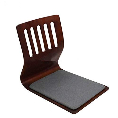 CHAIR Stuhl Hocker Qualitäts-Barhocker japanischen Stil ohne Beine Stuhl Naturmaterialien Wohnzimmer Schlafzimmer Einzel Stuhl Erwachsener Heim Hocker,B