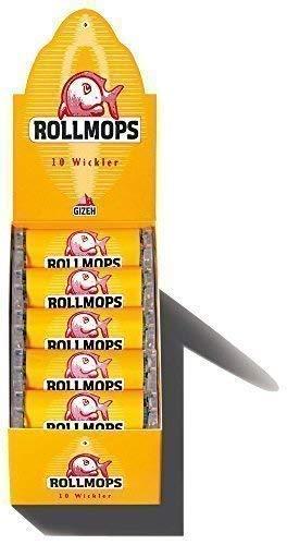 GIZEH Rollmops Wickler / 10er (Roller, Drehmaschine)