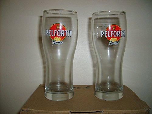Pelforth Radler-Gläser, Zitronenmotiv, 25cl, 6Stück