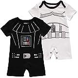 Star Wars - Peleles para recién nacidos (2 unidades) - - 24 meses