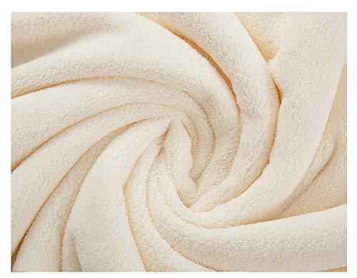 Koraal Fluweel Was Gezicht Handdoek Zuigen Thuis Schoonheid Salon Niet Schuren Haar Kinderen Schoon Verdikt Rechthoekige Kleding 35x75cm Melk geel