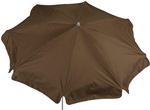 beo ombrelloni Protezione Impermeabile, Rotonda, Diametro 180cm, Colore: Sabbia