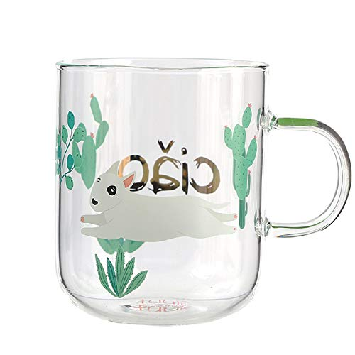 Coffee Japan Zakka ijsbeer penguin creatieve nieuwigheid lekker kopje koffie cup Pyrex glas bier hete thee,RunningPitBull370 ml